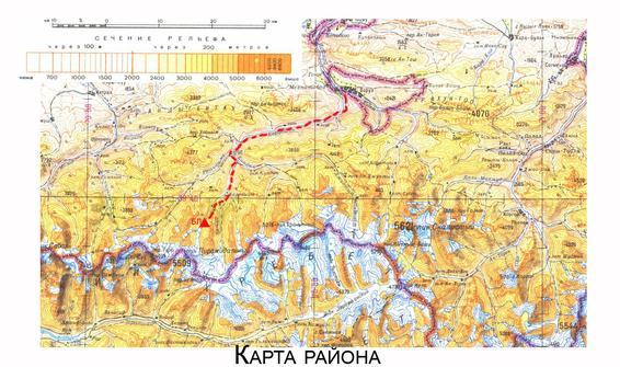 Карта и схема района